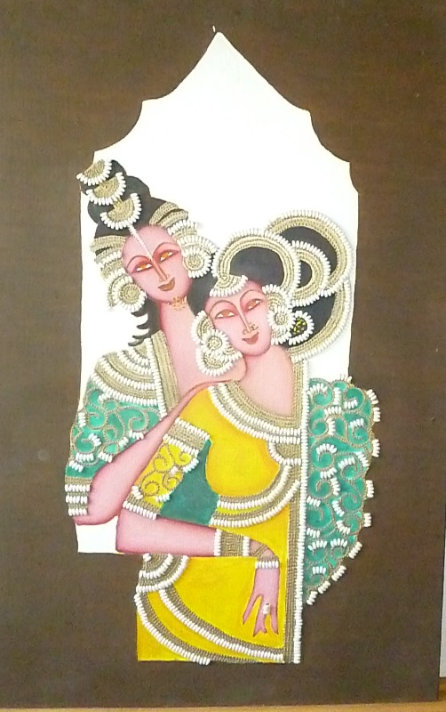 Tribal oil painting suppliers