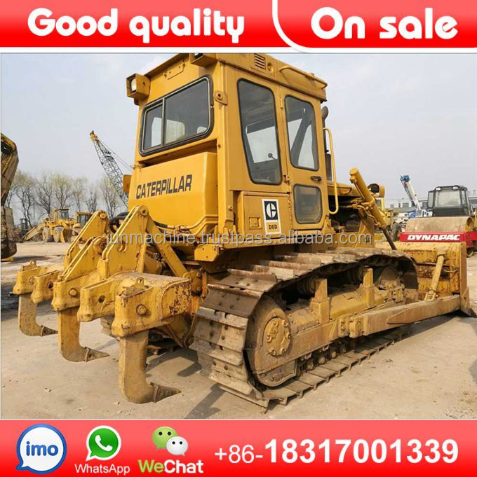 Used cat bulldozer d6d dozer for sale