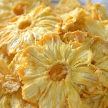 HACCP HIGH QUALITY DRIED PINEAPPLE -$1200 PER TON