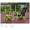 Outdoor furniture, garden chair and footstool