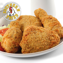 Halal Frozen Southern Fried Chicken Drums and Thighs (Breaded)