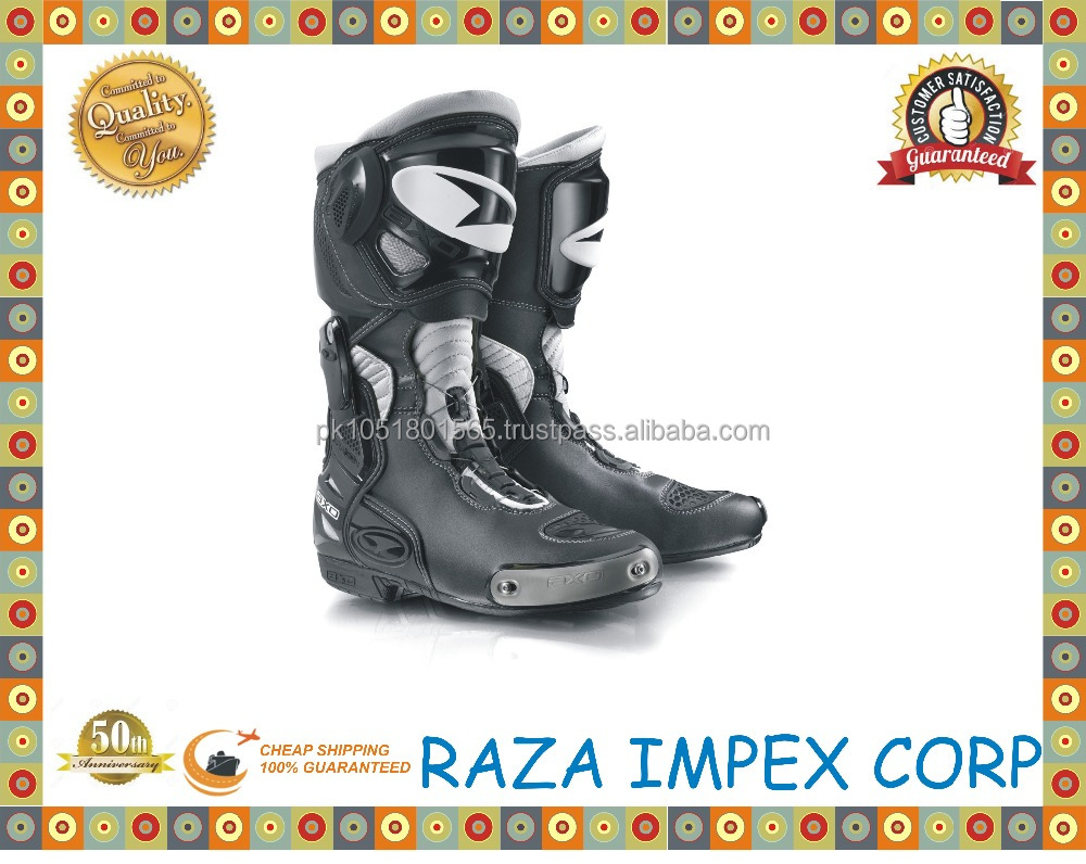 Performance New Motorcycle Boots , Motorcycle Race Boots New design motocross racing shoes for men adults and teenagers