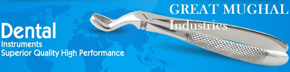 GMI DENTAL EXTRACTION FORCEPS English Pattern Upper Molar / Dentist Tools
