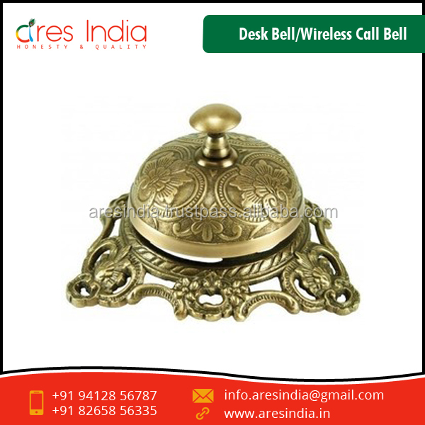 Long Lasting Grade Wireless Call Bell/Desk Bell for Offices and Hotels Use