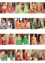 Triveni Collection of 12 Partywear Faux Georgette Saree TSN96026FullCollection