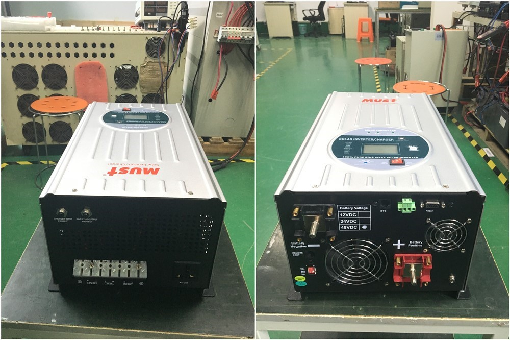 Hybrid Solar Inverter 2000w 24v for pumping water
