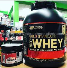 Optimum Nutrition 100% Whey Protein Gold Standard 10lb bag - Sports Nutrition & Protein