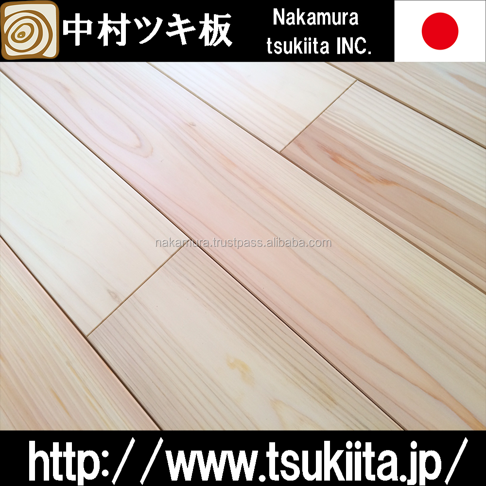 Japanese and Luxury basketball flooring flooring for building interior use , other hinoki cypress products available