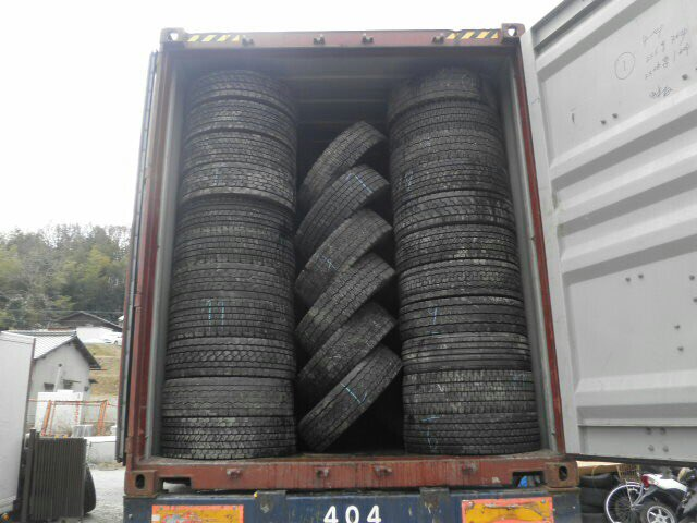 Japanese Used Off The Road Tires (22.5 Truck Tyres, Heavy Truck, Heavy Equipments)