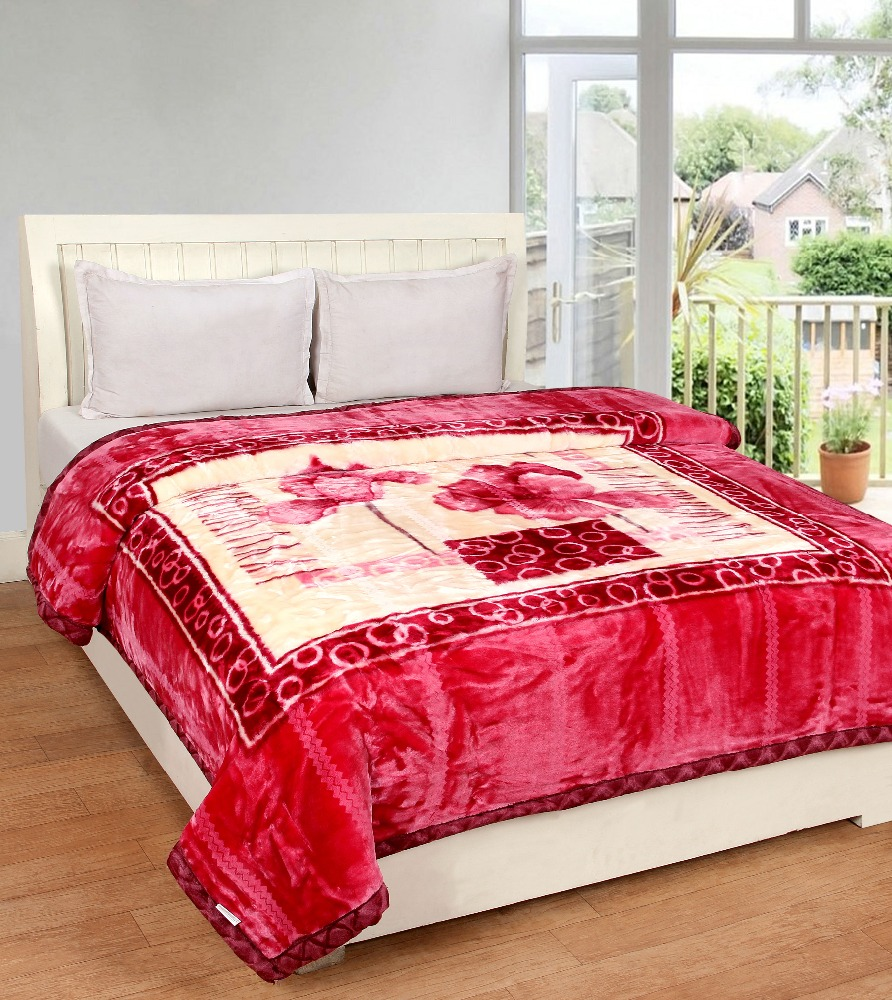 VIPL Florina Spain Double Bed Double Ply Super Soft Blanket