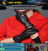 2015 New fashion stylish Ladies Winter Dress Gloves Soft Thermal Linning Dressing Geniune Leather Gloves for womens