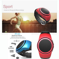 B20 Bluetooth Speaker Smart watch Wristwatch FM Speaker Music Loud