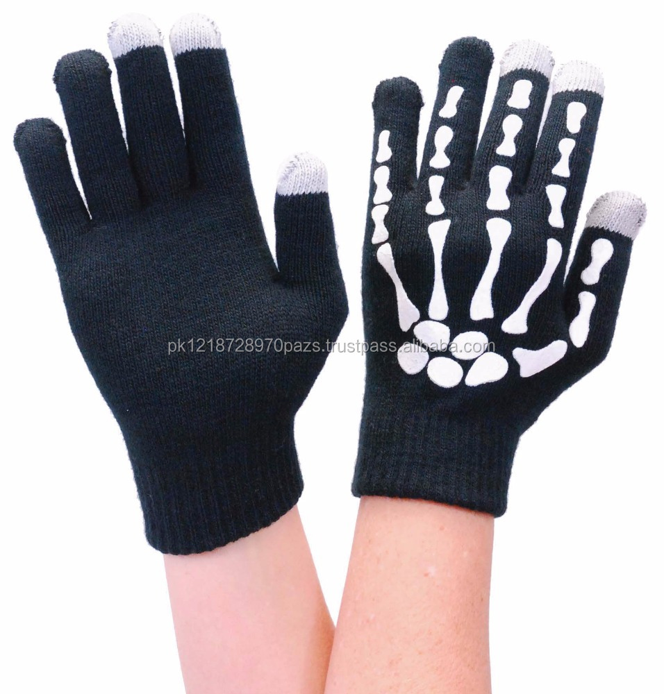 Skeleton Hand Cell Phone Glove