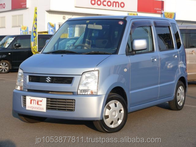 Popular and Good looking suzuki automatic transmission wagonR FX 2004 usd car with Good Condition made in Japan