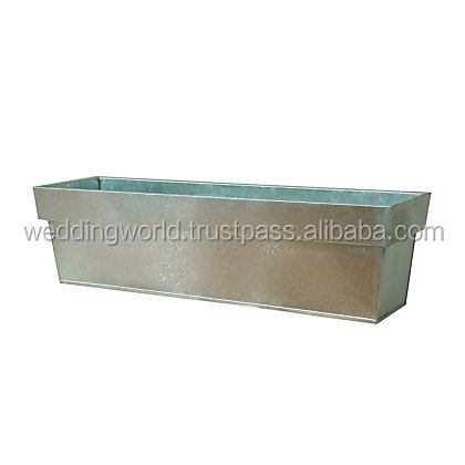 large outdoor planter / indoor rectangular planter