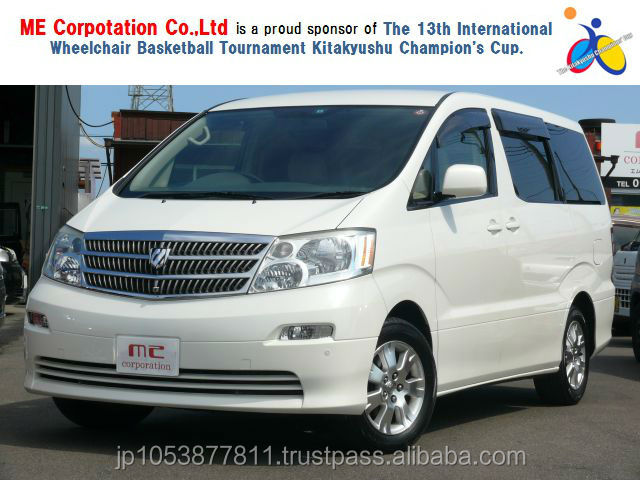 Popular and Right hand drive used toyota alphard car 2002