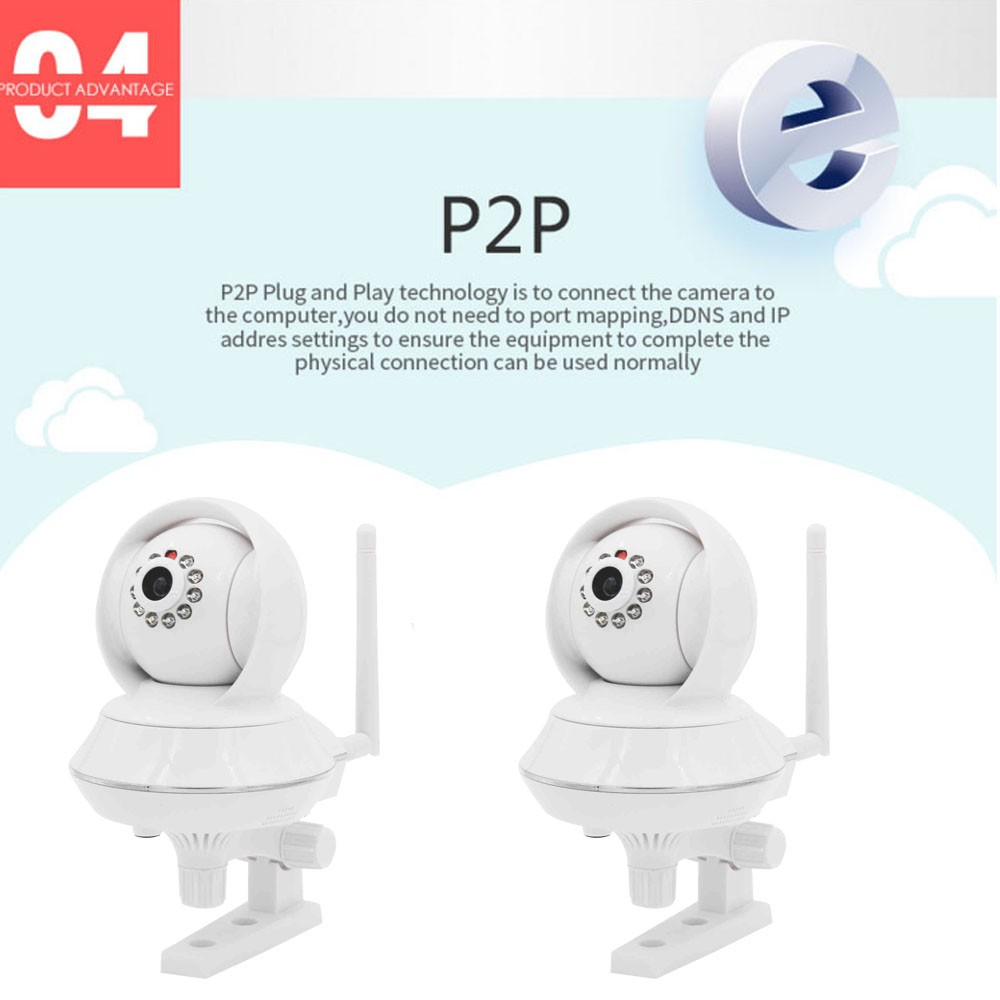 Pan/Tilt/Zoom Technology IP camera Wirless WiF IP Camera high definition digital wifi ip camera
