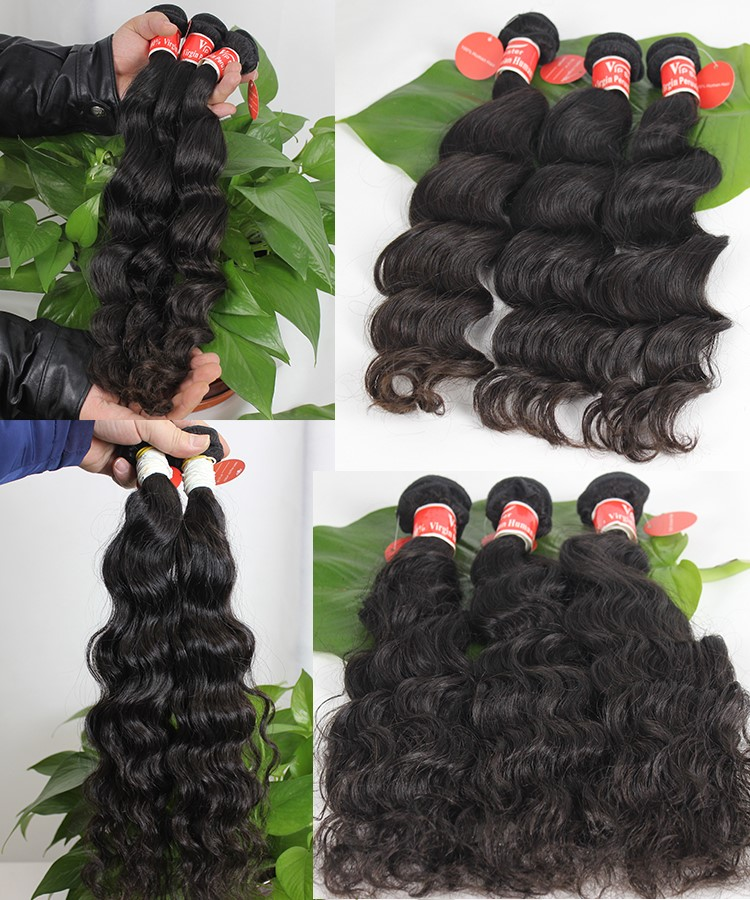 Free sample 100 human remy peruvian hair
