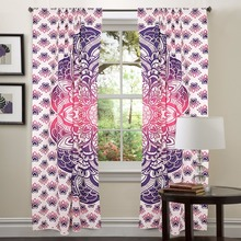 Latest Tapestry Drapes, Indian Mandala Curtains, Mandala Curtains Tapestry Window Treatment Bohemian Set