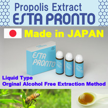 Reliable propolis extract related to organic raw honey with multiple functions made in Japan