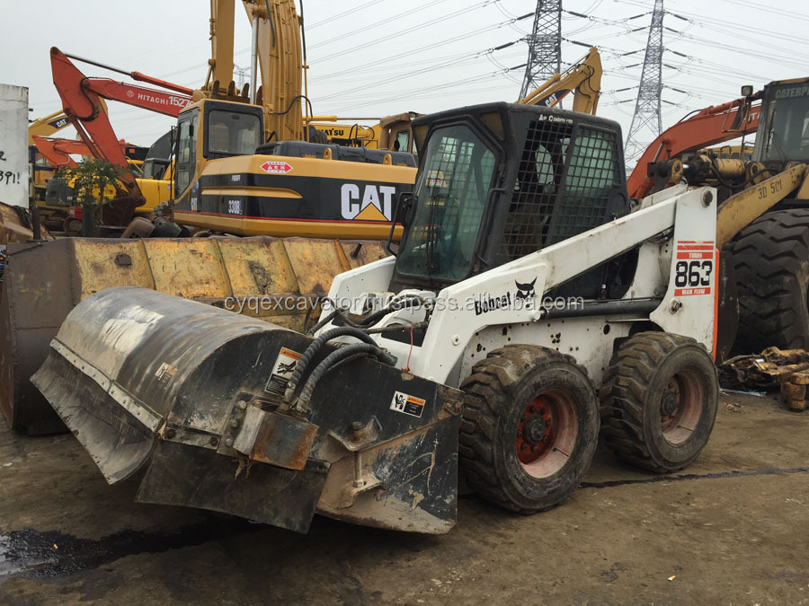 Used BOBCAT 863 Backhoe Loader Original USA made