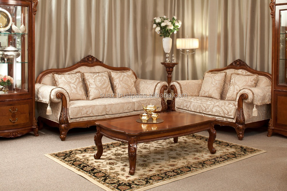 teak wood Sofa designs , Luxury style wooden sofa seats , Wooden Sofa Set Designs , Premium quality wooden cloth sofa