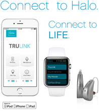 Made for iPhone Hearing Aid Starkey Halo i20 ric BTE heairng aid CE FDA