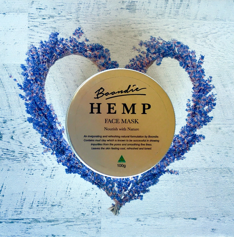 Natural Hempseed Oil Clay Mask
