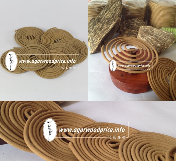 Incense coils - A famous products from Vietnam Agarwood chips or Oud incense powder