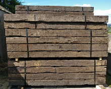 GRADE AB RECLAIMED OAK RAILWAY SLEEPERS