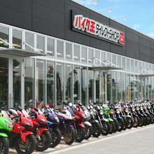 Rich stock and Various types of motorcycle market at reasonable prices