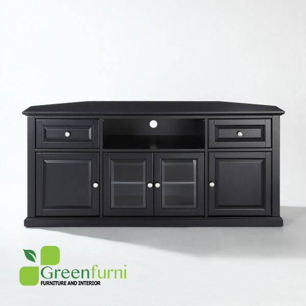 Living room dresser TV Stand wth 2 doors, shelves ,2 Door Glasses and 2 Drawers furniture