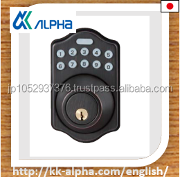 Popular items!! Electronic keypad deadbolt lock by ALPHA.