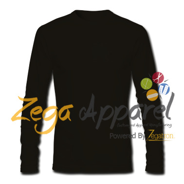 Zegaapparel Breathable man's long sleeve tshirt polyester spandex shirt promotional tees (41)