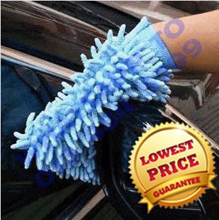 Car Wash Glove Microfiber Chenille car cleaning cloth