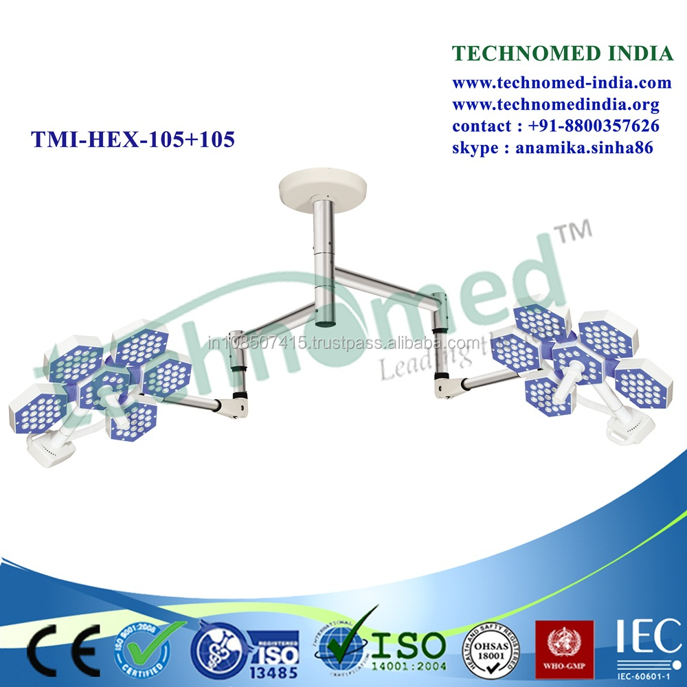 TMI-HEX-105+105 Ceiling Mount Motion Sensor Light