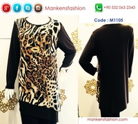 Leopard Tunic - Wholesale Clothes