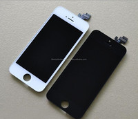 Quality A+ Lcd Black White LCD Display Touch Screen Digitizer Full Assembly For IPhone 5 5S 5C Replacement Repair Parts
