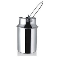 stainless steel milk powder can/storage tin can