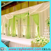 backdrop pipe and drape for wedding used stage curtains for sale