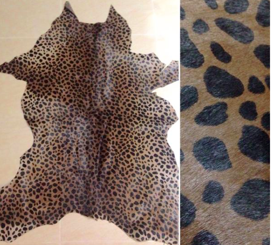 Calfskin - Cheeta Prints