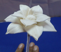 sola Handmade decorative wood artificial flower