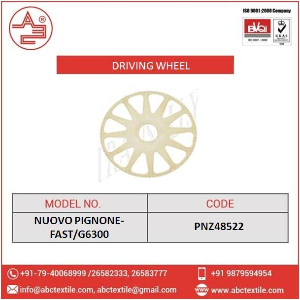 NUOVO PIGNONE Fast/G6300 Driving Wheel with 72 mm Inner Diameter