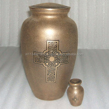 Antique Cremation Urn/Colourful Metal Urns/Export Quality Urns