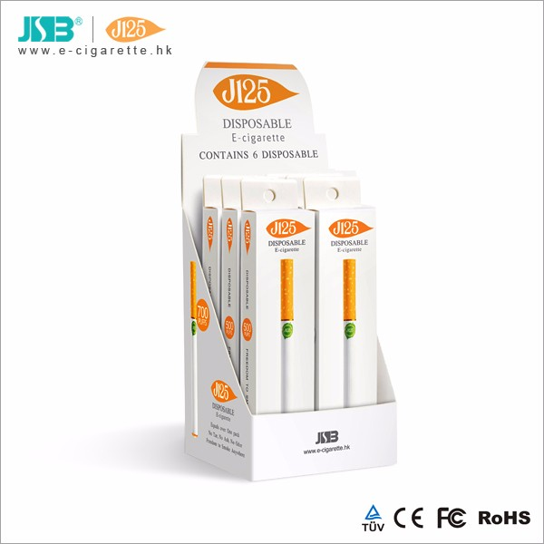 JSB technology J120 280 mAh 600 puffs disposable electronic cigarette e cig e-cigarette raw material of juice from Europe USA