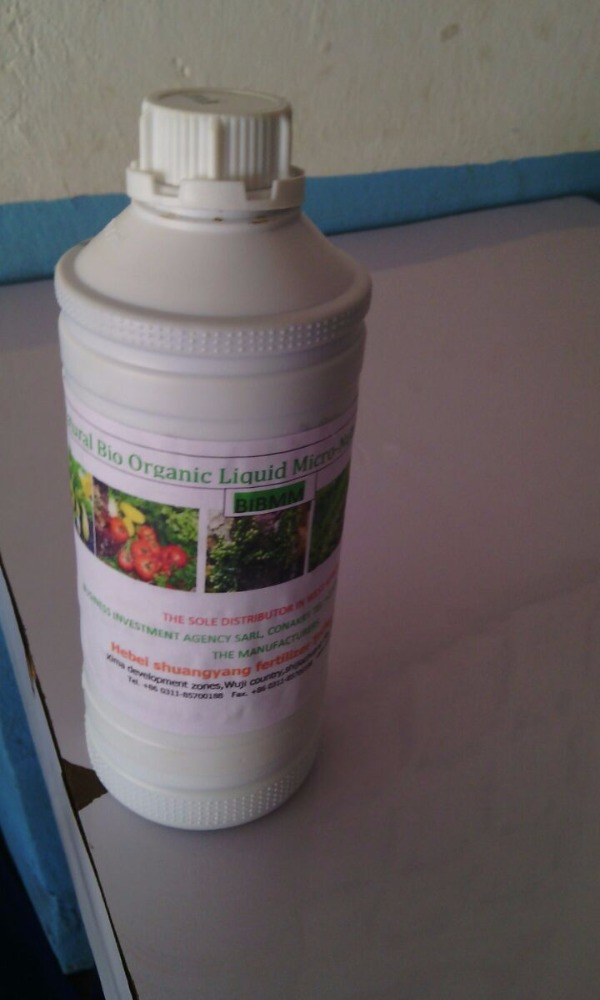 Natural Bio Organic Liquid Micro-Nutrient Fertilizer