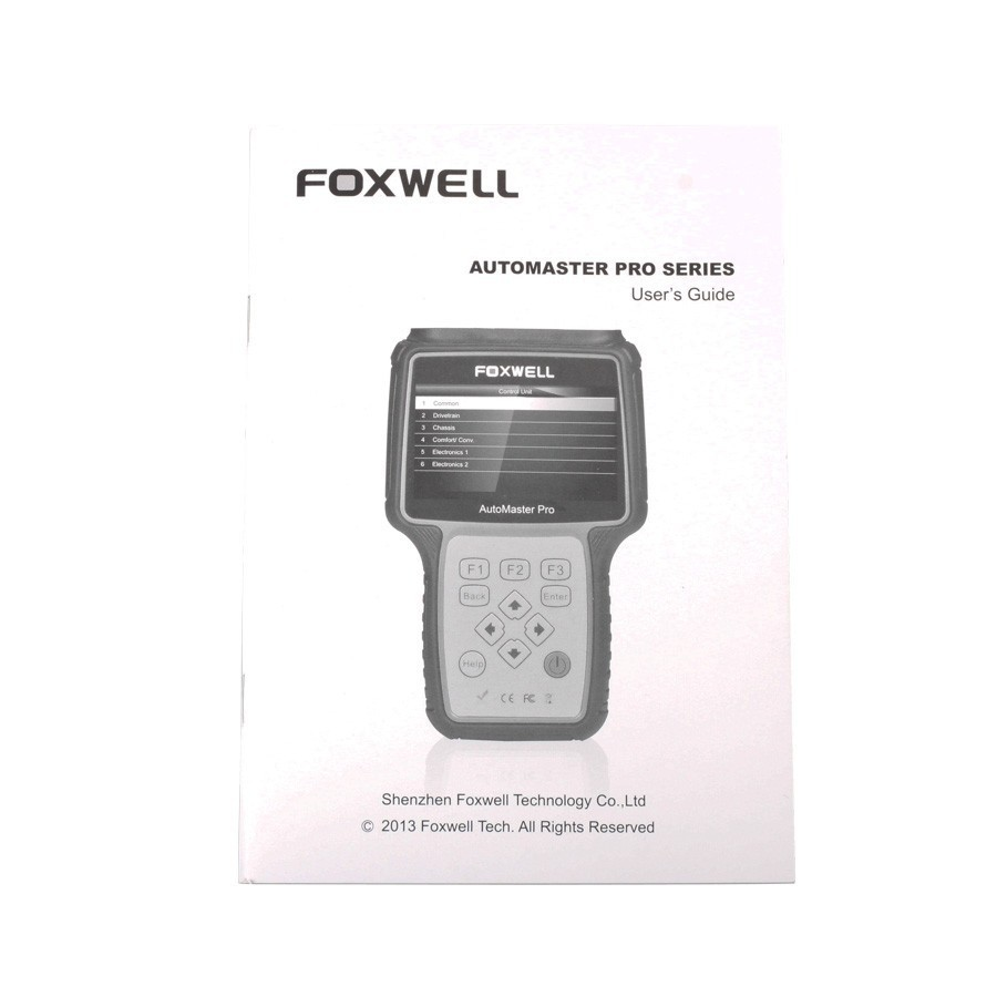 Foxwell Distributor Foxwell NT644 Engine ABS Airbag Transmission Oil Light Reset and EPB Service Car Scanner Tool