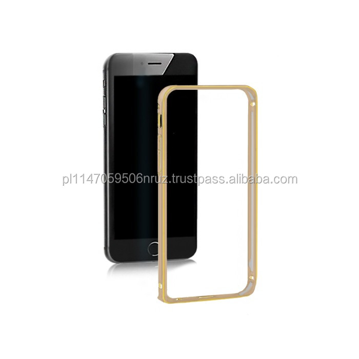 ALUMINUM BUMPER CASE FOR IPHONE 6 PLUS | GOLD