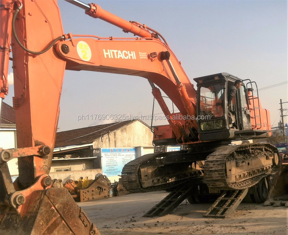 Hitachi ZX470-3 Excavator for sale, Used Japan Hitachi ZX470 Crawler Excavator Cheap Price