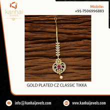 Best Selling Design Forehead Tikka Jewelry at Reliable Price